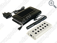 "Mobile ultrasonic voice recorder jammer ""Chameleon- Clutch -12-Light"""